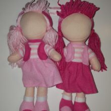 small soft faceless doll - little ummah