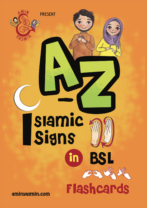 Little Ummah - A-Z Islamic Signs Flashcards
