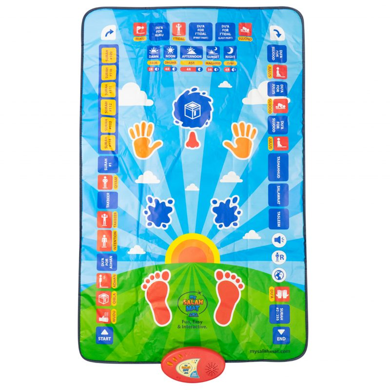Little Ummah - My Salah Mat - Interactive Prayer Mat