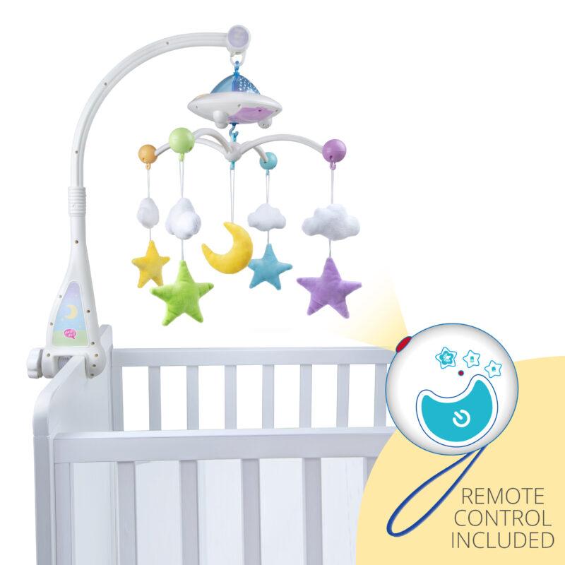 Little Ummah - Moon & Stars Cot Mobile