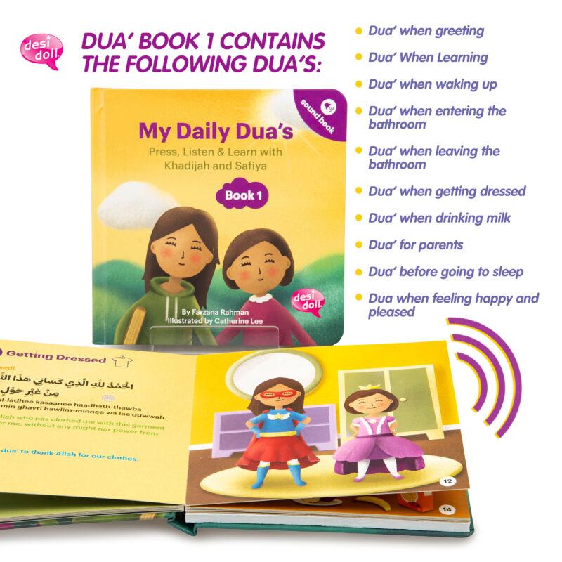 Little Ummah - My Daily Dua Book 1