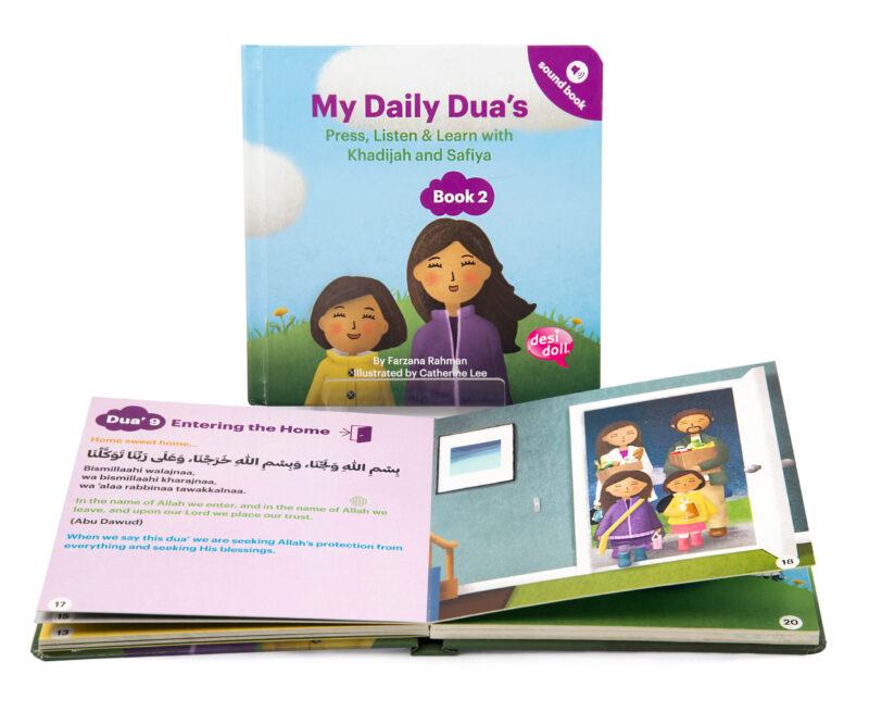 Little Ummah - My Daily Dua Sound Book 2