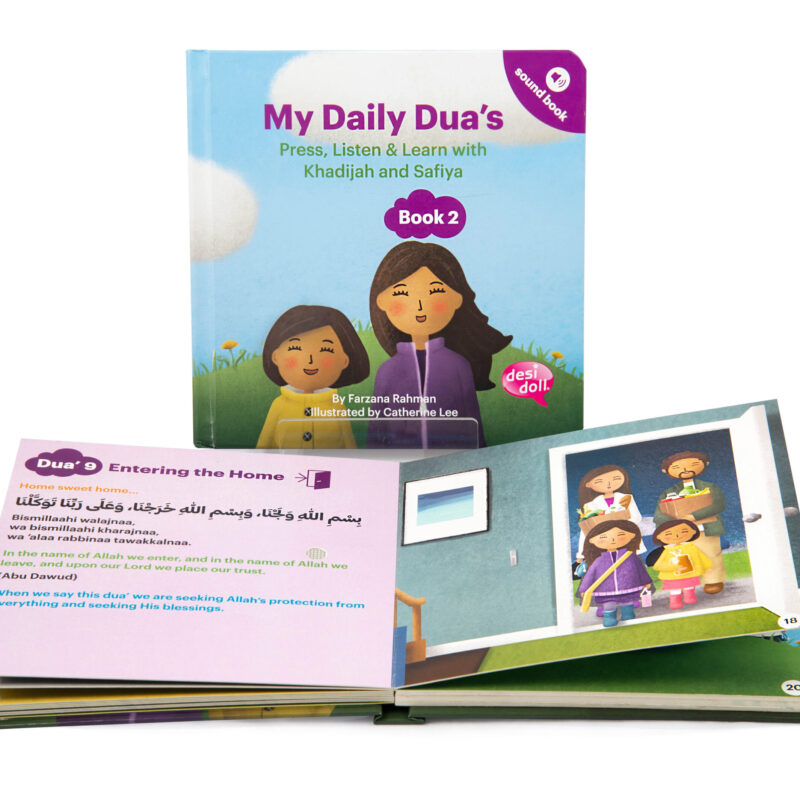 Little Ummah - My Daily Dua Sound Book 2