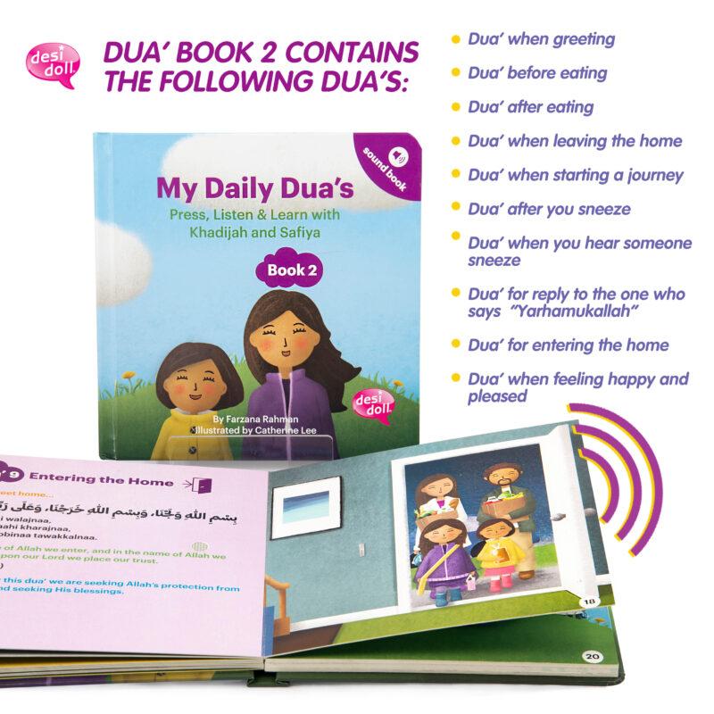 Little Ummah - My Daily Dua Book 2