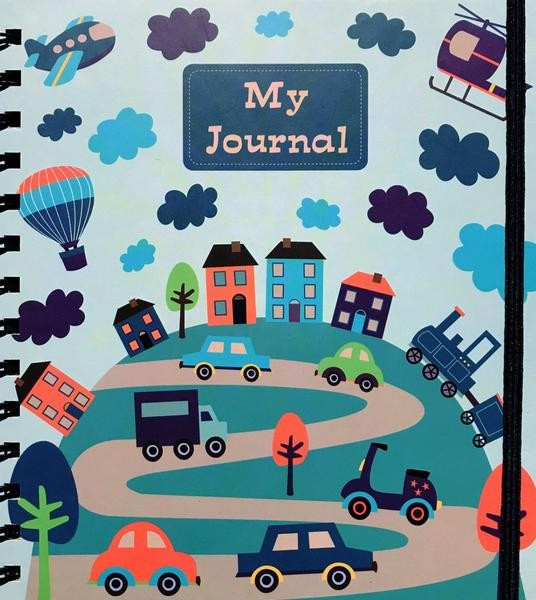 Little Ummah - My Muslim Journal Blue