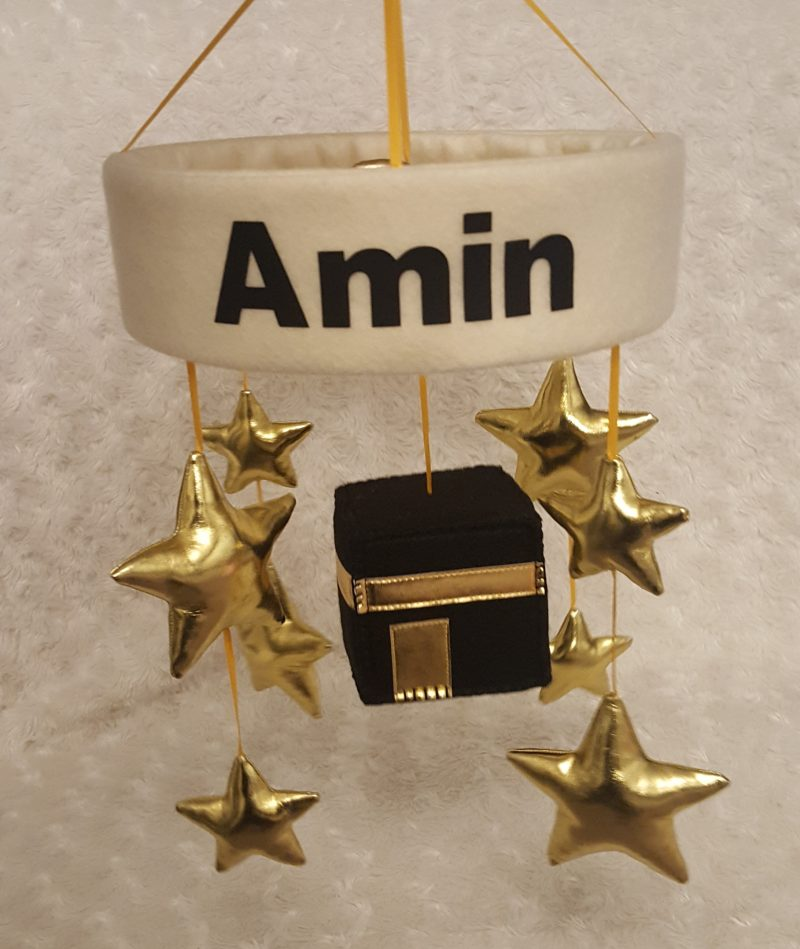 Little Ummah - Personalised Cot Mobile