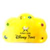 Little Ummah - Quran Cube Pillow Yellow Disney Font