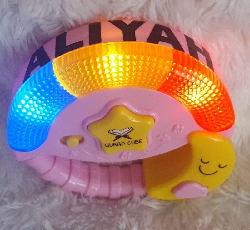 Little Ummah - Personalised Pink Baby Wheel
