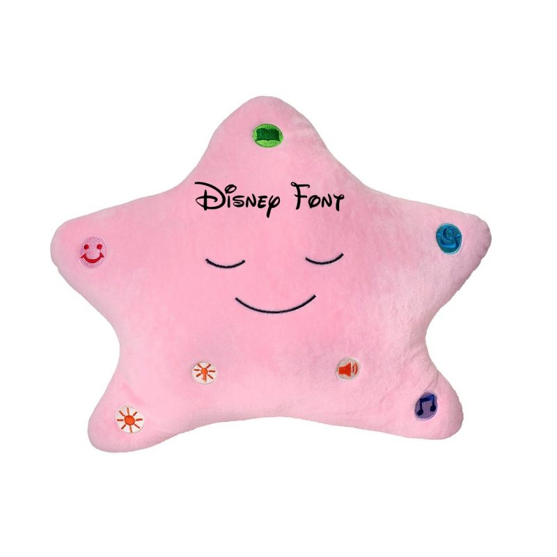 Little Ummah - Personalised Pink Star_Disney Islamic Toy - Desi Doll