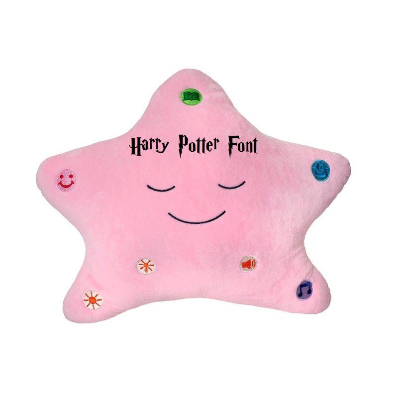 Little Ummah - Personalised Pink Star_HarryP Islamic Toy Desi Doll