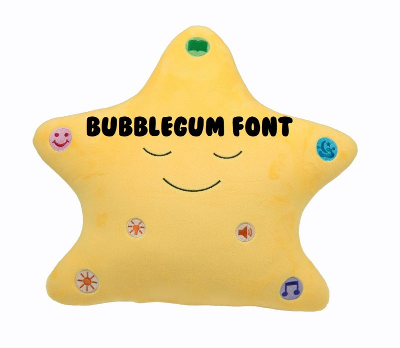 Little Ummah - Personalised Star_Bubblegum Islamic Toy - Desi Doll