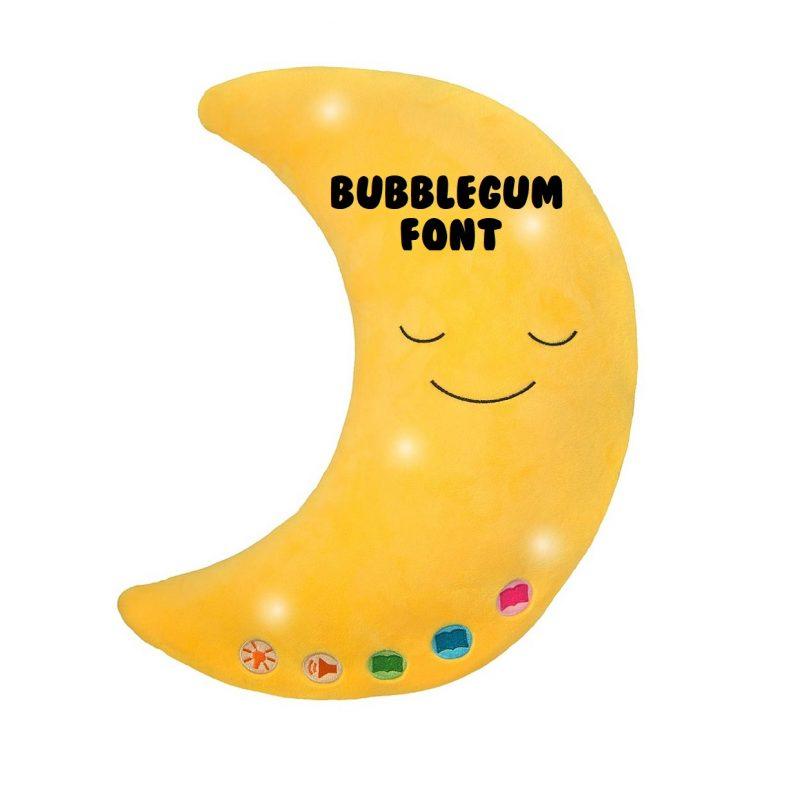 Little Ummah - Personlaised Moon_Bubblegum Islamic Toy - Desi Dol
