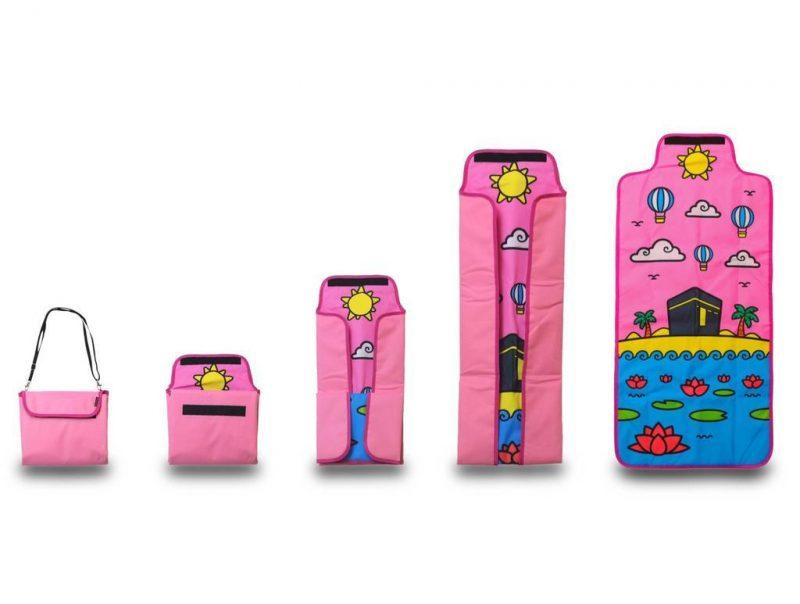 Little Ummah - Pink Travel Prayer Mat